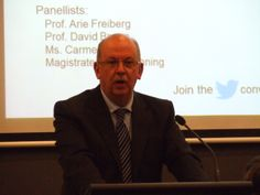 Magistrate David Fanning of the Neighbourhood Justice Centre, Collingwood, Victoria speaks about #therapeutic #justice to a capacity audience of 190 people at public forum 'Why #Prison? Why Not?' 12 May 2014 | Sentencing Advisory Council [audio , slides   transcripts available here]