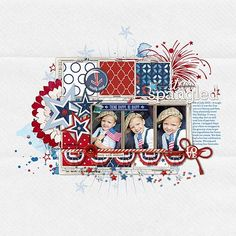 Curated Studio Mix Scrapbooking Kit No. 10- Katie Pertiet Kits- KT192440- DesignerDigitals