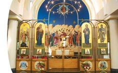 Greek Orthodox Church, Old Brookville NY « Jaroff Design – Mison Concepts: Custom Architectural Metal & Glass Fabrication