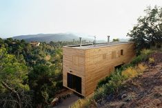 H Arquitectes' Gorgeous Wooden House 205 is Designed for Disas...