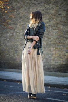 Edgy and slightly bohemian. Love it.