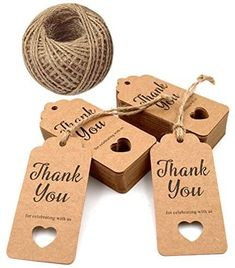 Gift Tags,Baby Shower Tags,Hollow Heart Thank You for Celebrating with Us Pcs Kraft Thank You Tags Shower Favors Tags for Wedding Party Favors Thanksgiving with 100 Feet Natural Jute Twine Wedding Favor Tags, Wedding Party Favors, Bridal Shower Favors, Wedding Reception, Baby Shower Tags, Browns Gifts, Mason Jar Centerpieces, Floating Candles, Paper Gifts