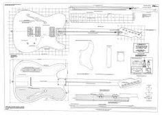 Full Scale 69 Tele Thinline  BYOPLAN 69TLINE furthermore Cool Guitar Case Plans in addition Dulcimers also Building Electric Guitars as well Wrhb Spec. on fender telecaster template