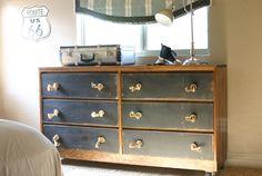 Cómo tunear una cómoda con estilo industrial   Hacer bricolaje es facilisimo.com