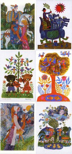 Reich Karoly Illustrations