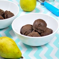Chocolate-Pear Sorbet-Get your hourly source of sweet...