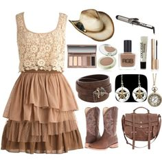 """Country Girl"" by kyrie-akers-hubbard on Polyvore"