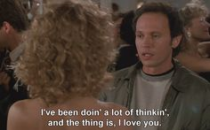 When Harry Met Sally - Way to put it out there, Harry!