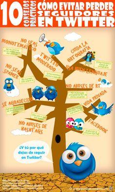 10 consejos prácticos para evitar perder seguidores en Twitter