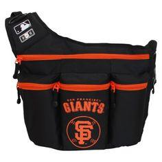 San Francisco Giants Diaper Bag. I may have FINALLY found a bag I like!
