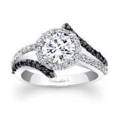 Unique Black Diamond Engagement Rings | ... Black Diamond Collection to its showcase of beautiful engagement rings
