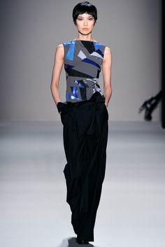 Nicole Miller Fall 2011 Ready-to-Wear Fashion Show - Tao Okamoto
