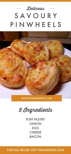 If you are looking for the perfect party appetizer then look no further than these Delicious Savoury Pin Wheels! thelinkssite.com