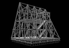 Diseño estructural de la casa flotante