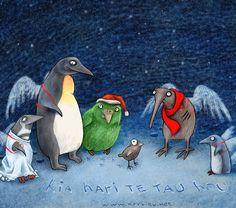 С наступающими! Мне кажется, или предновогодье наступило нынче раньше обычного?  В любом случае, тупиковые птичи поздравляют всех с рождествами и встречами нового года!