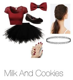 """Hush little baby, drink your spoiled milk~Melanie Martinez"" by brooklyn-ann-marie on Polyvore featuring Report, ZuZu Kim, JEM, women's clothing, women's fashion, women, female, woman, misses and juniors"