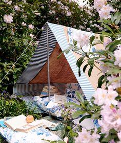 perfect backyard tent.