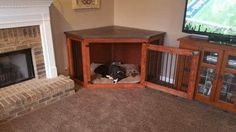 Before placing order, please message me to make sure the shipping is correct! More times than not, the shipping is cheaper depending on where I am shipping it to! I am happy to give you a free quote!  This is a beautiful Dog Kennel made from American Pine. Easy to clean and easy to maintain!  The kennel measurements can be built to exactly what you need.  FEATURES: Rubber coated floor incase any accidents may happen, you know puppies! Removable top for easy cleaning. Top is made from solid…