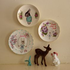 Lovely dish - made by the storybook rabbit, found on Etsy