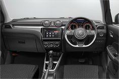 Suzuki revela a nova geração do Swift New Suzuki Swift, Suzuki Swift Sport, Swift Images, New Swift, Suzuki News, Nova, New Hyundai, Car Interior Design, Autos