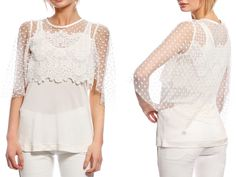 ANNAWII ♥ - WHITE LACE TOP