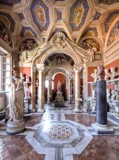 Galleria dei Busti, Museo Pio-Clementino, Vatican City da Max