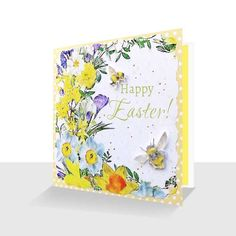 undefined Unique Cards, Daffodils, Spring Flowers, Happy Easter, Print Design, Greeting Cards, Messages, Luxury, Prints