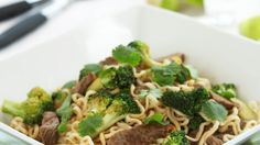 Nuddelwok Wok, Spaghetti, Vegetables, Ethnic Recipes, Vegetable Recipes