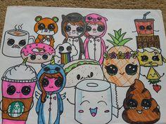 Cute draw