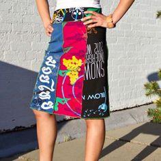 BetaBrand Think Tank   Miss Print Skirt