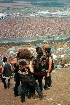 Isle of Wight Festival by David Hurn, England, 1969.
