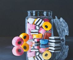 pinturas-de-bodegones-contemporaneos-modernos.Pintor K. Henderson, Oklahoma City, Oklahoma, EE. UU. BODEGONES MODERNOS CONTEMPORANEOS PINTADOS AL OLEO SOBRE LIENZO