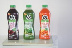 """There are now whole aisles dedicated to them but they're mostly made from fruit. There's not much in the way of veg or fruit/veg combos, except Power Blend veg-fruit juices. We taste-tested the three variants - blends of vegetables with a dash of fruit juice which """"dilutes"""" the natural fruit sugars from juice, adds flavour and reduces the kilojoules you finally consume. I find them an easy way to help you increase your intake of vegetables."""