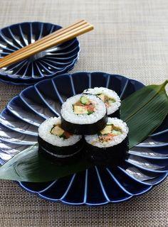 Japanese sushi rolls 太巻寿司