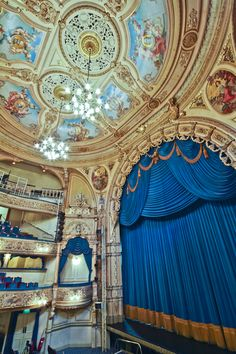 Grand Theatre Blackpool in Blackpool, Lacashire, England