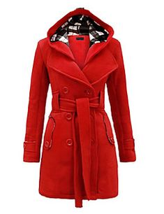 70ee2bf5bd19   37.99  Women s Daily Wear Chic   Modern Winter Plus Size Long Trench Coat