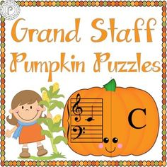 Looking for a way to reinforce note reading in a fun way?This pumpkin matching game is perfect for your autumn weekly piano/instrumental lessons. Easy to cut out and quick to play, this game will help your students reinforce their understanding of Bass Clef Low F-Middle C, and Treble Middle C-High G in a flash!