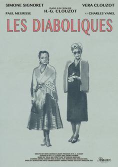 Tony Stella's poster for Henri-Georges Clouzot's Les Diaboliques (1955).