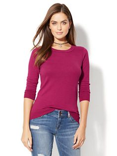 Shop Waverly Crewneck Sweater. Find your perfect size online at the best price at New York & Company.