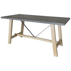 Concrete top dining table from John Lewis