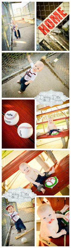 Baseball theme one year birthday baby boy cake smash session. Photographer Debby Ditta Photography: Happy first birthday Jackson! Baby Bee turns ONE!  baseball bat hat photographer Tomball Texas TX Houston Cypress Spring the Woodlands Hockley Montgomery Magnolia Newborn child children custom boutique