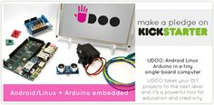 UDOO... nerd-gasm awesome development board. They just overshot their $27K Kickstarter goal by $440K with 13 days to go.
