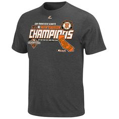 San Francisco Giants 2012 NL West Division Champions Official Club House T-Shirt