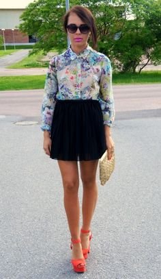 Floral is my second love... after polka dots.