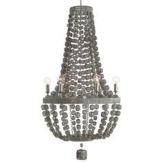 Arteriors Jada Wire Wrapped Chandelier
