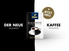 Der neue Kaffee ist da: Tchibo FOR BLACK 'N WHITE. Ab jetzt!
