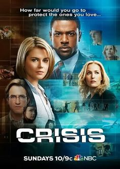 """NBC tv show, """"Crisis"""". with Lance Gross (sigh)"""