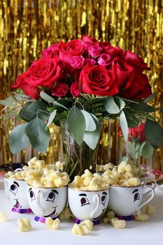 Trendy Ideas Wedding Disney Theme Beauty And The Beast Bridal Shower Trendy Wedding Ideas Disney Theme Beauty and the Beast Bridal Shower Beauty And Beast Birthday, Beauty And The Beast Theme, Beauty And Beast Wedding, Beauty Beast, Diy Beauty And The Beast Decorations, Deco Disney, Disney Theme, Quinceanera Party, Birthday Party Themes