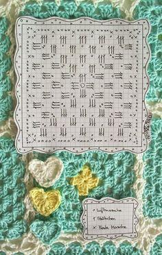 Essaouira granny blanket. Free chart by Anazard