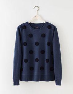 Embroidered Spot Sweatshirt